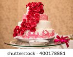 wedding cake and buffet table | Shutterstock . vector #400178881