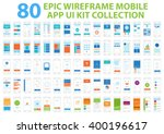 epic wireframe mobile app ui...