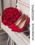 Wedding Details  Bouquet Of Re...