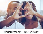 love is in the air  beautiful... | Shutterstock . vector #400220989