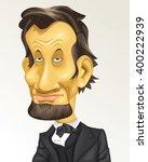 cartoon caricature historical... | Shutterstock .eps vector #400222939
