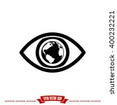 eye globe icon | Shutterstock .eps vector #400232221