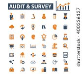 analytics icons  | Shutterstock .eps vector #400236127