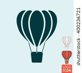 balloon icon. air balloon icon...