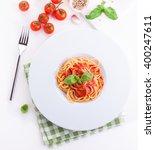 Tomato Pasta Spaghetti With...