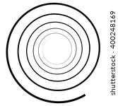 abstract spiral element.... | Shutterstock .eps vector #400248169