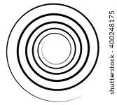 abstract spiral element.... | Shutterstock .eps vector #400248175
