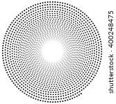 abstract spiral element.... | Shutterstock .eps vector #400248475
