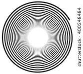 abstract spiral element.... | Shutterstock .eps vector #400248484