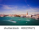 aerial view of venice with...   Shutterstock . vector #400259671