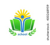 education logo design | Shutterstock .eps vector #400268959
