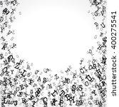 vector illustration of alphabet ... | Shutterstock .eps vector #400275541