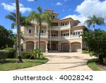 Large Tropical Beach House In...