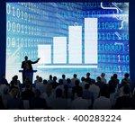 bar graph diagram achievement ... | Shutterstock . vector #400283224