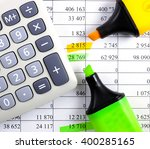 bank account  financial... | Shutterstock . vector #400285165