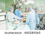 surgeons team at cardiac...   Shutterstock . vector #400289365