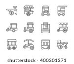 street retail and wheel market. ... | Shutterstock .eps vector #400301371