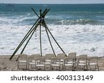 Wedding Ceremony Set Up By The...