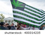 washington april 2   protesters ... | Shutterstock . vector #400314235