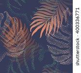 beautiful seamless tropical...   Shutterstock .eps vector #400336771