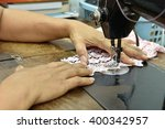 tailoring workshop and clothing ... | Shutterstock . vector #400342957