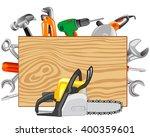 tools joiners and metalworking | Shutterstock .eps vector #400359601