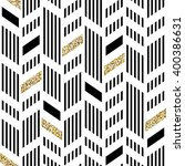 seamless chevron pattern. art... | Shutterstock .eps vector #400386631