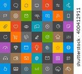 modern web and mobile... | Shutterstock .eps vector #400412911