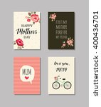 Set Of Mother\'s Day Cards....