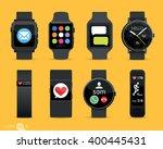 smart watches   Shutterstock .eps vector #400445431