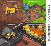 general construction concept ... | Shutterstock .eps vector #400445671