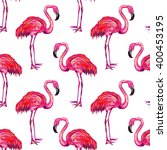 seamless summer pattern with... | Shutterstock .eps vector #400453195