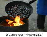 Roasted Chestnuts Over The Fire