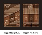 business brochure flyer design... | Shutterstock .eps vector #400471624