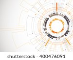 abstract orange colored... | Shutterstock .eps vector #400476091