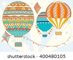 coloring page adult and... | Shutterstock .eps vector #400480105