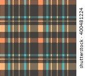 checkered british fabric... | Shutterstock .eps vector #400481224