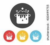 pot icon | Shutterstock .eps vector #400499755