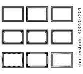 frame icons | Shutterstock .eps vector #400507201