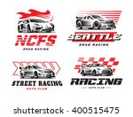 Sport Cars Logo Illustration O...