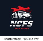 sport car logo illustration.... | Shutterstock .eps vector #400515499
