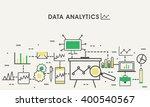 business data analytic  finance ... | Shutterstock .eps vector #400540567
