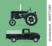 Cool Vector Old Farm Retro...