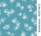 flower illustration pattern | Shutterstock .eps vector #400574671