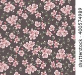 seamless vintage pattern with... | Shutterstock .eps vector #400574989