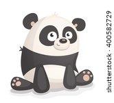 cartoon panda | Shutterstock .eps vector #400582729