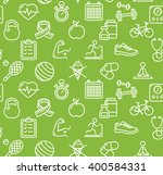 health life fitness background... | Shutterstock . vector #400584331