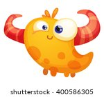 cartoon monster | Shutterstock .eps vector #400586305