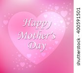 mother's day. vector... | Shutterstock .eps vector #400591501