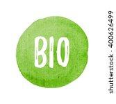 bio card  poster  logo  written ... | Shutterstock .eps vector #400626499